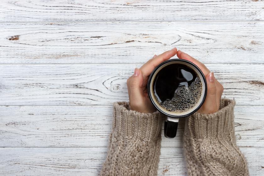 inni fekete kávét fogyás