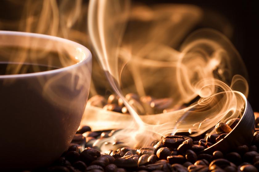 nem fekete kávé fogyás