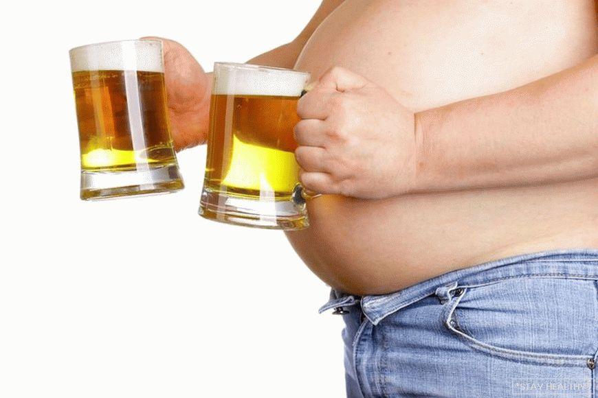 fogyni és inni sört
