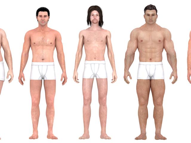 test vékony has