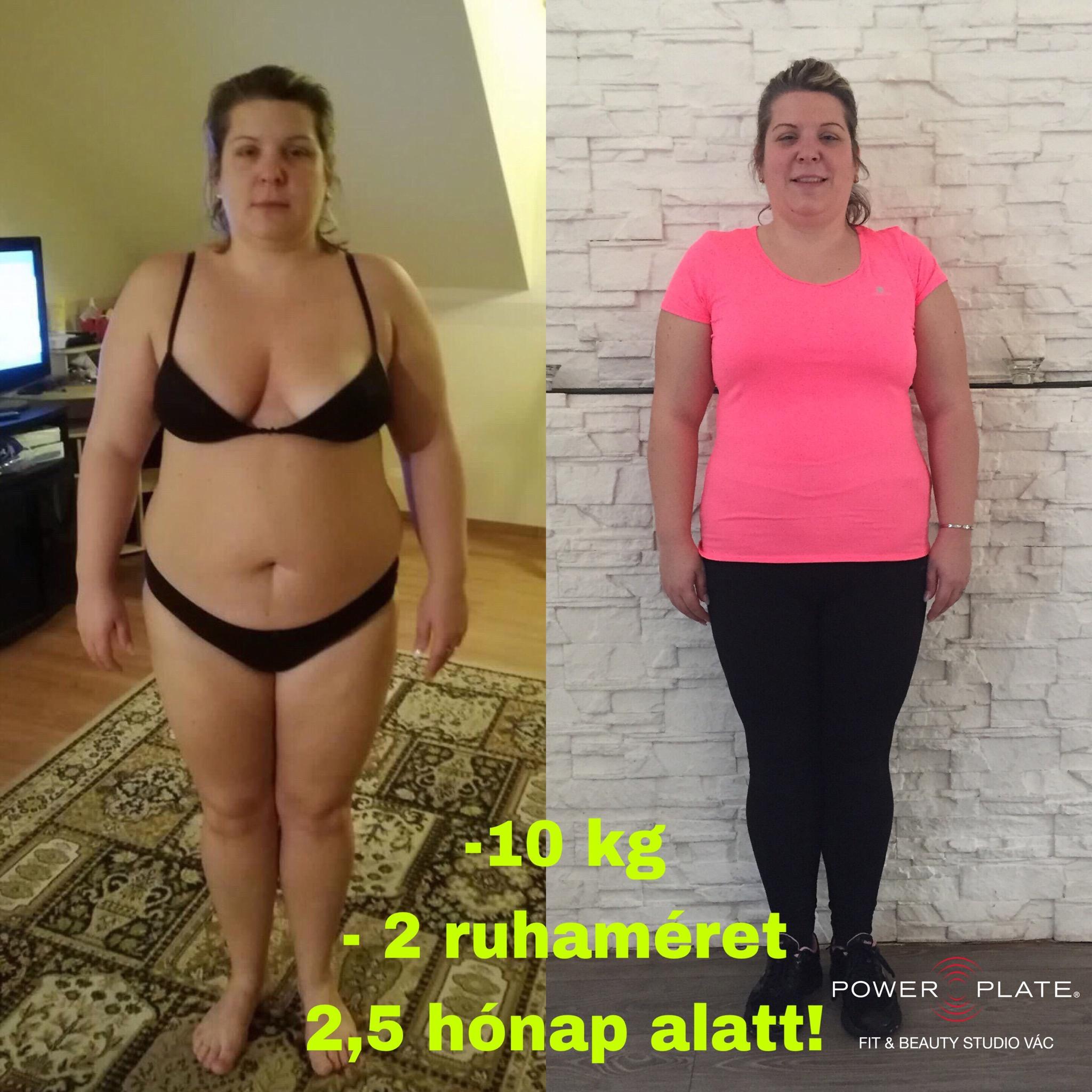 2 kg súlycsökkenés 2 hét alatt)
