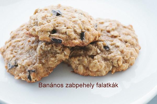 Riki-süti: Banános-zabpelyhes keksz | Food, Breakfast, Desserts