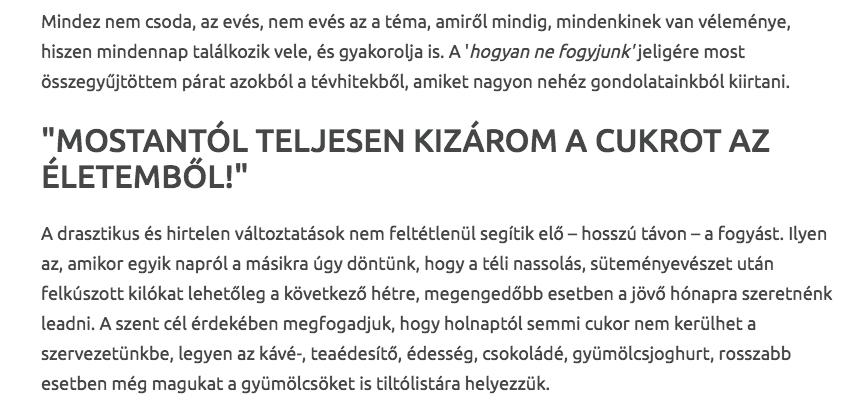 szellemes fogyás címek)