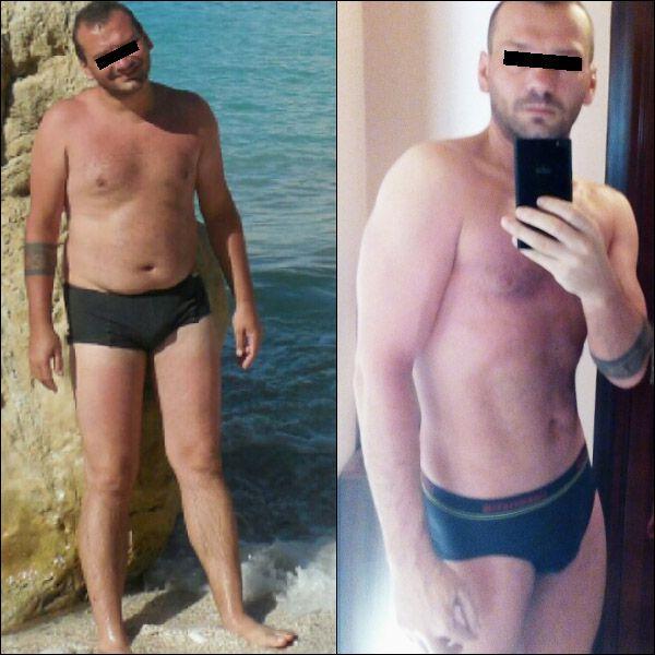 34 éves férfi fogyás