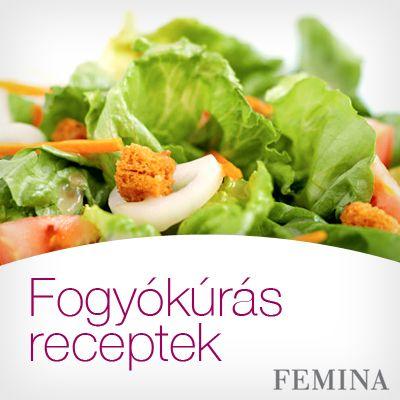 fogyókúrás ételek receptek