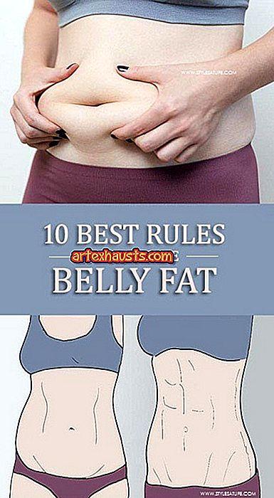 hogyan lehet elveszíteni a zsírt a hasában