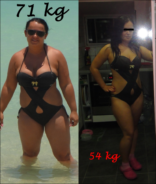 4 kg fogyás 1 hét alatt a fogyás miatt magasabbnak tűnik?