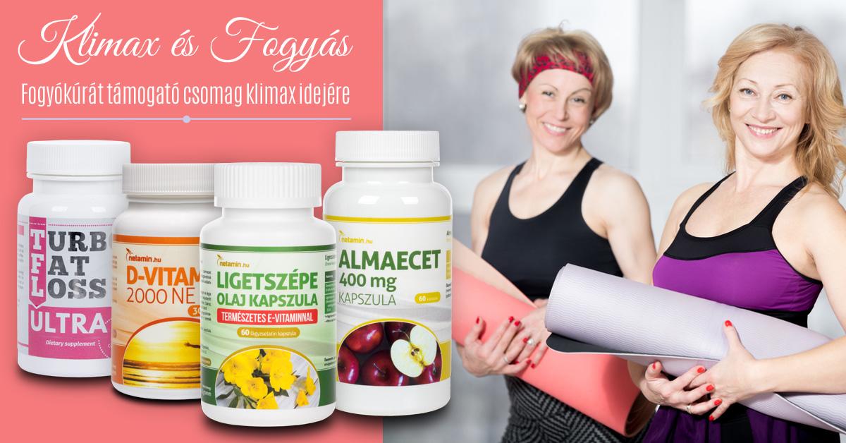 menopauza és fogyás tippeket)