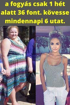 6 hét alatt elveszíti a testzsírt)