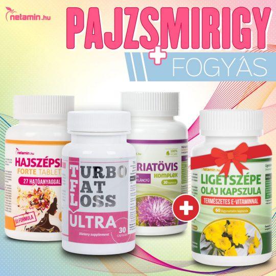 SLIMFIT – fogyasztó- és zsírégető tabletta