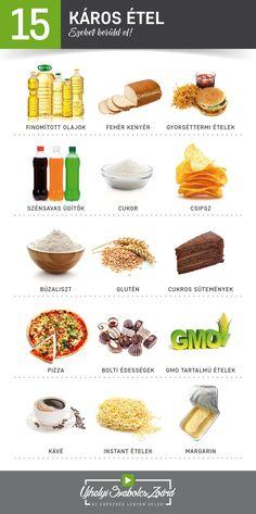 Egészséges ételek listája - EgészségKalauz