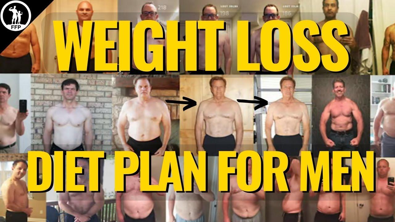male fat loss diet