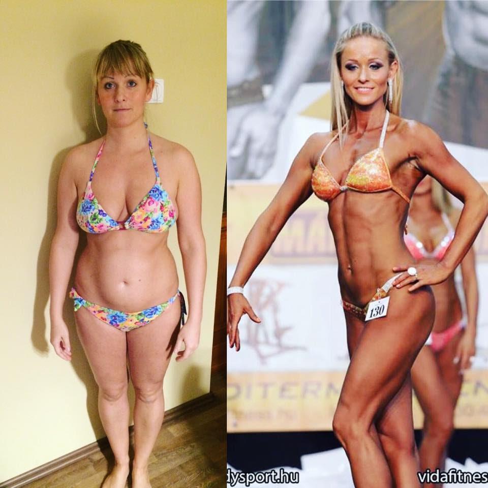 Nem csak nőknek: sikeres a modell, Tomán Szabina diétája | BAMA