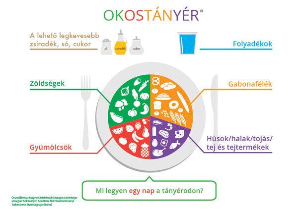 egészséges táplálkozás alapelvei)