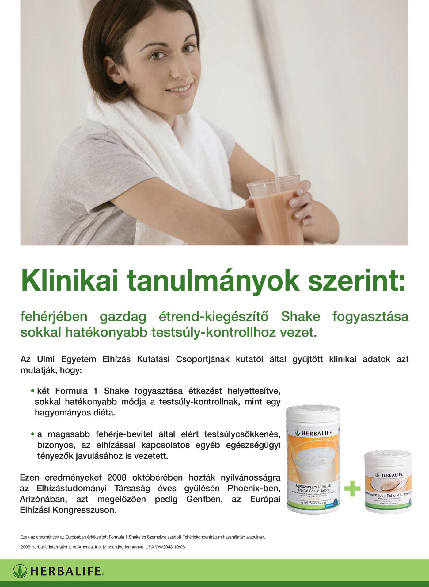fogyás kiegészítő hatékonysága)