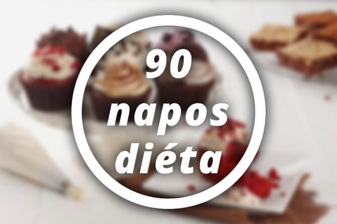 90 napos diéta fogyás kg