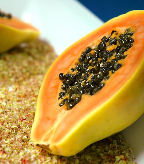 a papaya enzimek segítik a fogyásban? veszteség msg