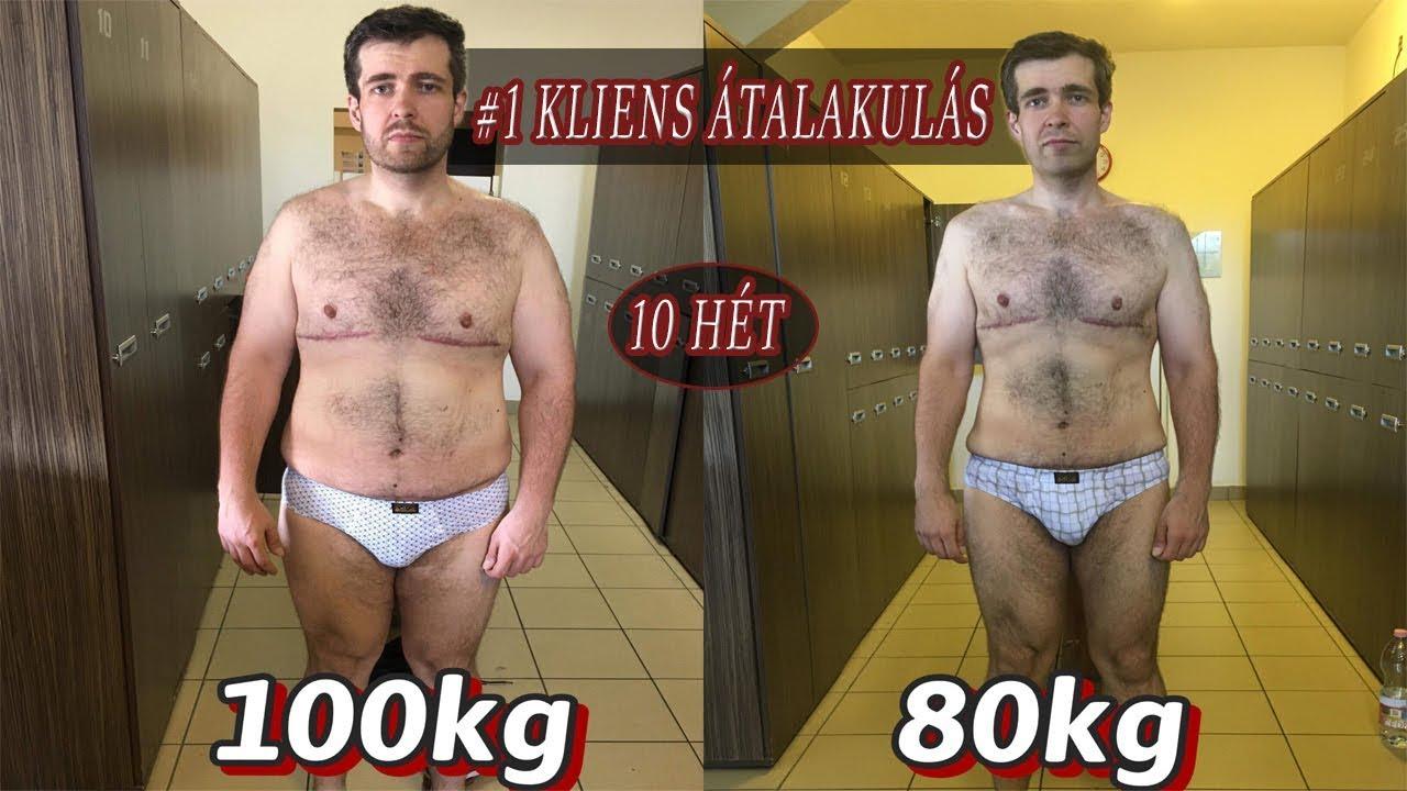 1 hét 5 kg súlycsökkenés