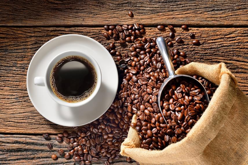 koffein fogyás