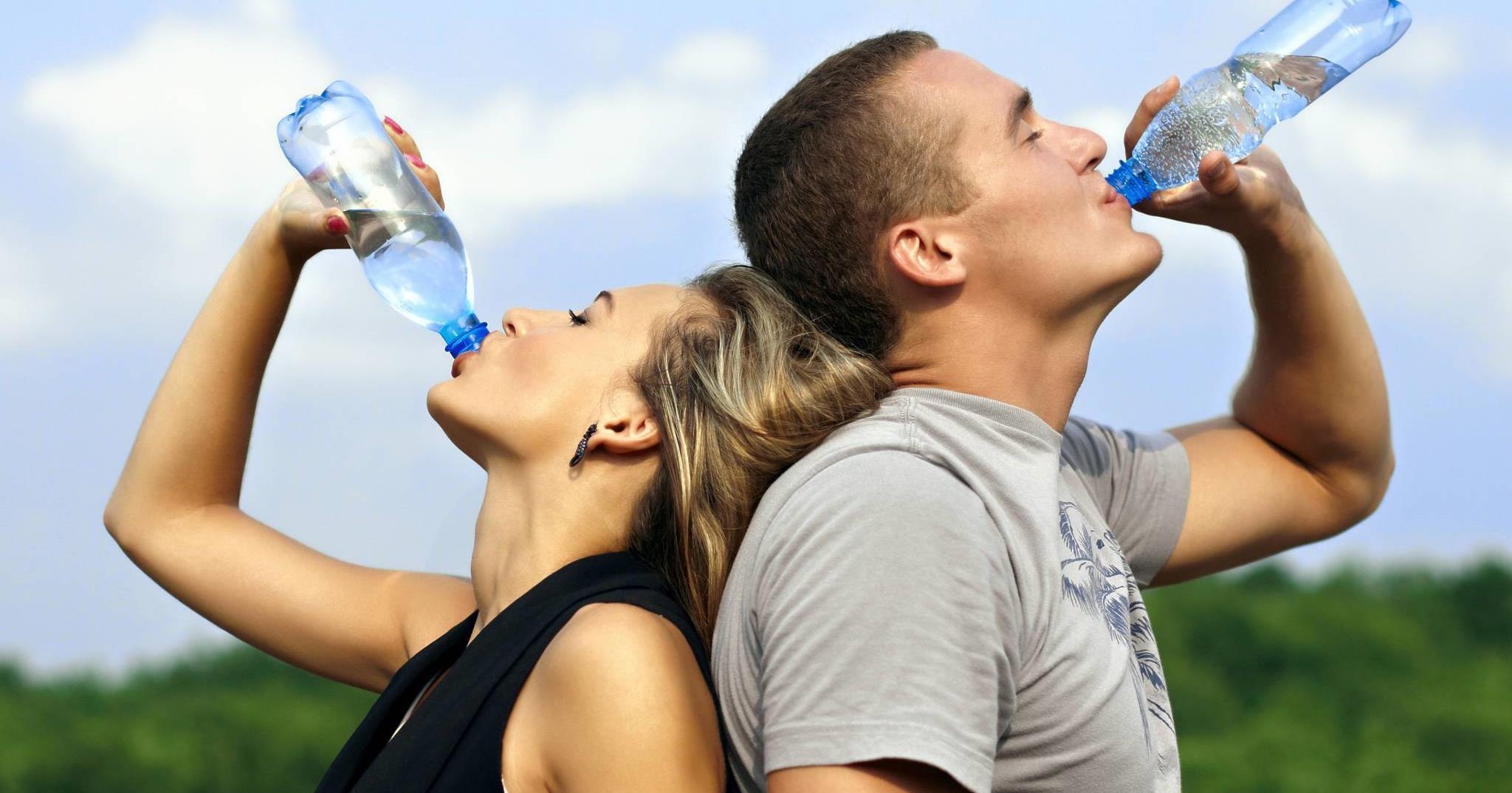 fogyás vízzel