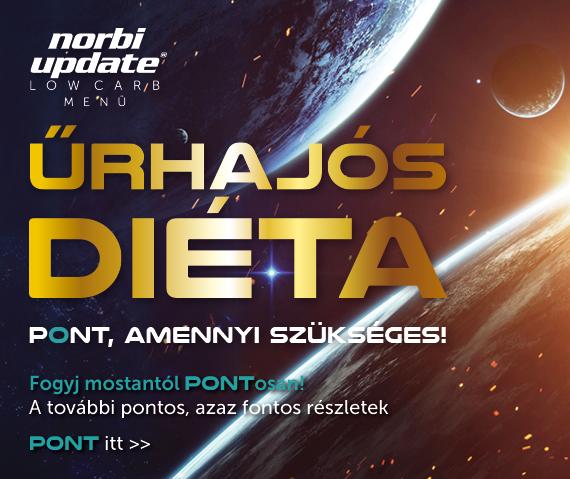 norbi update űrhajós diéta