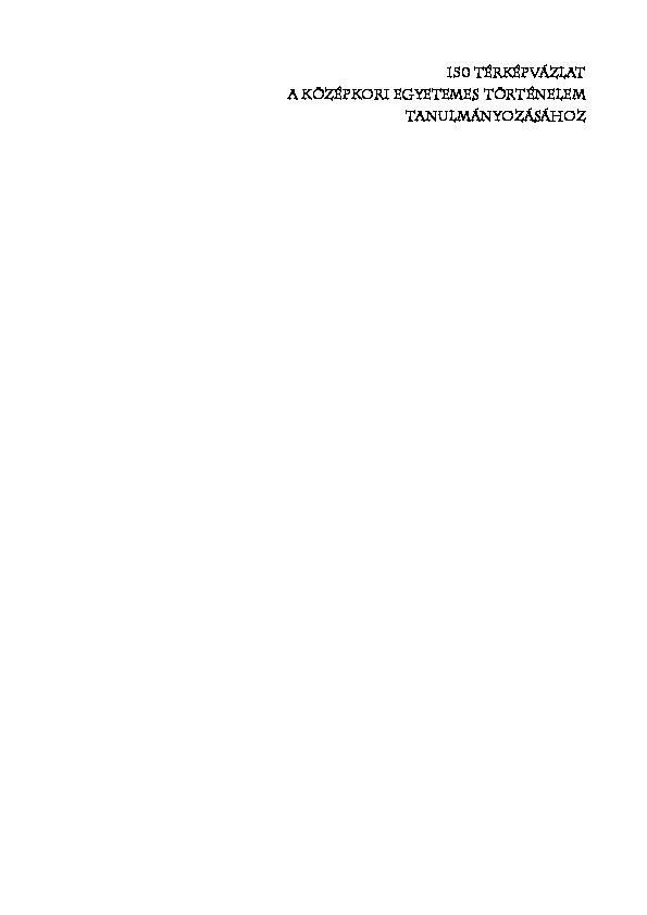Salamon-Konrád - Világtörténet