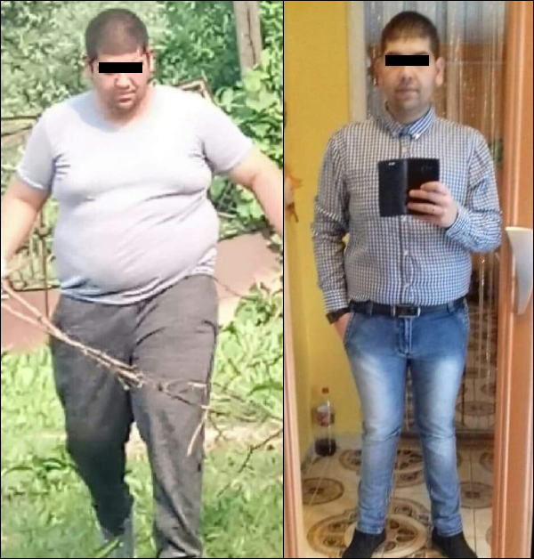 22 kg fogyás