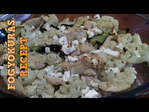 fogyókurás receptek
