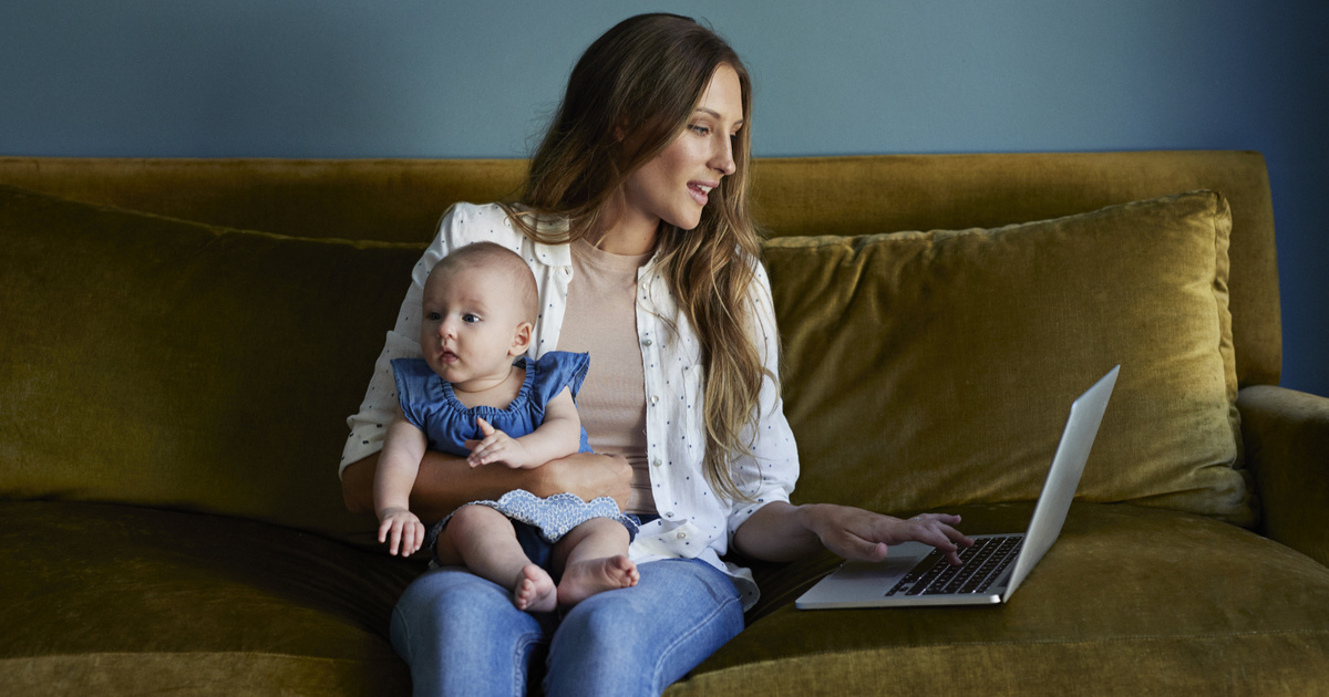 Hogyan kell fogyni a szülési szabadság otthon