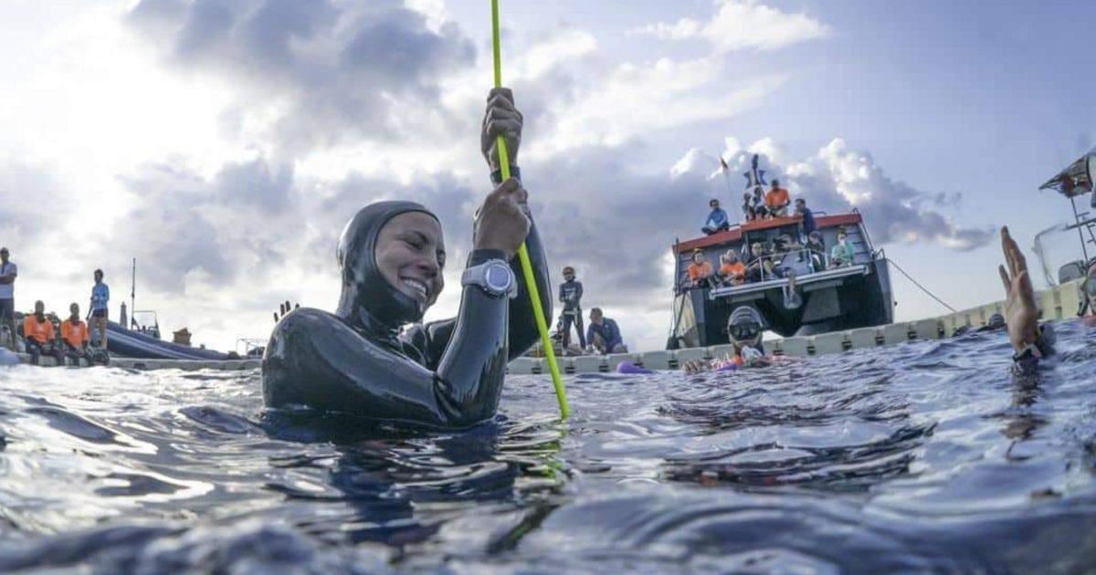 VB-arany, 40 kiló mínusz, új szerelem, új ország: Korok Fatima búvár