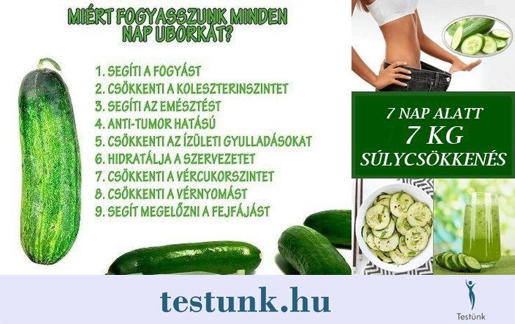fogyás ital uborka)