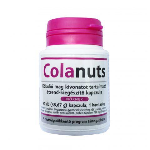 colanuts mellékhatásai)