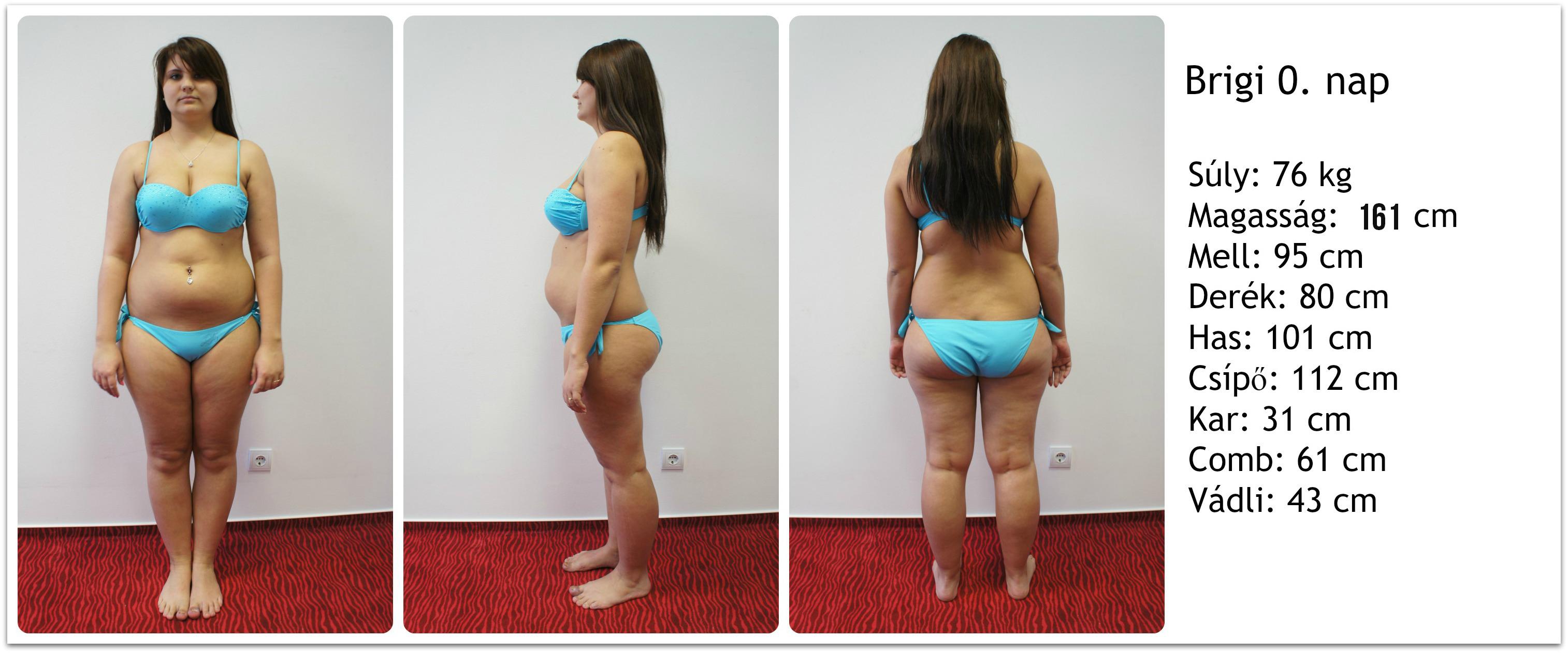 8 kg fogyás hetente)