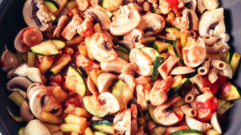 diétás zöldséges tészta