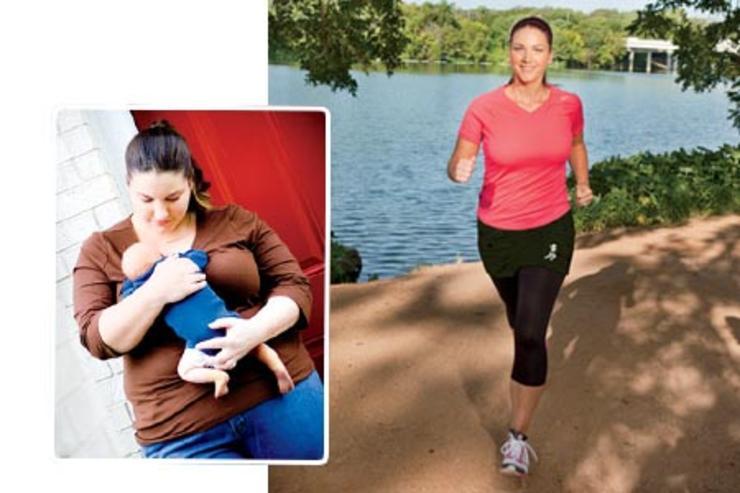Eszméletlen fogyás történet: 45 kilót adott le a 34 éves anyuka   Well&fit