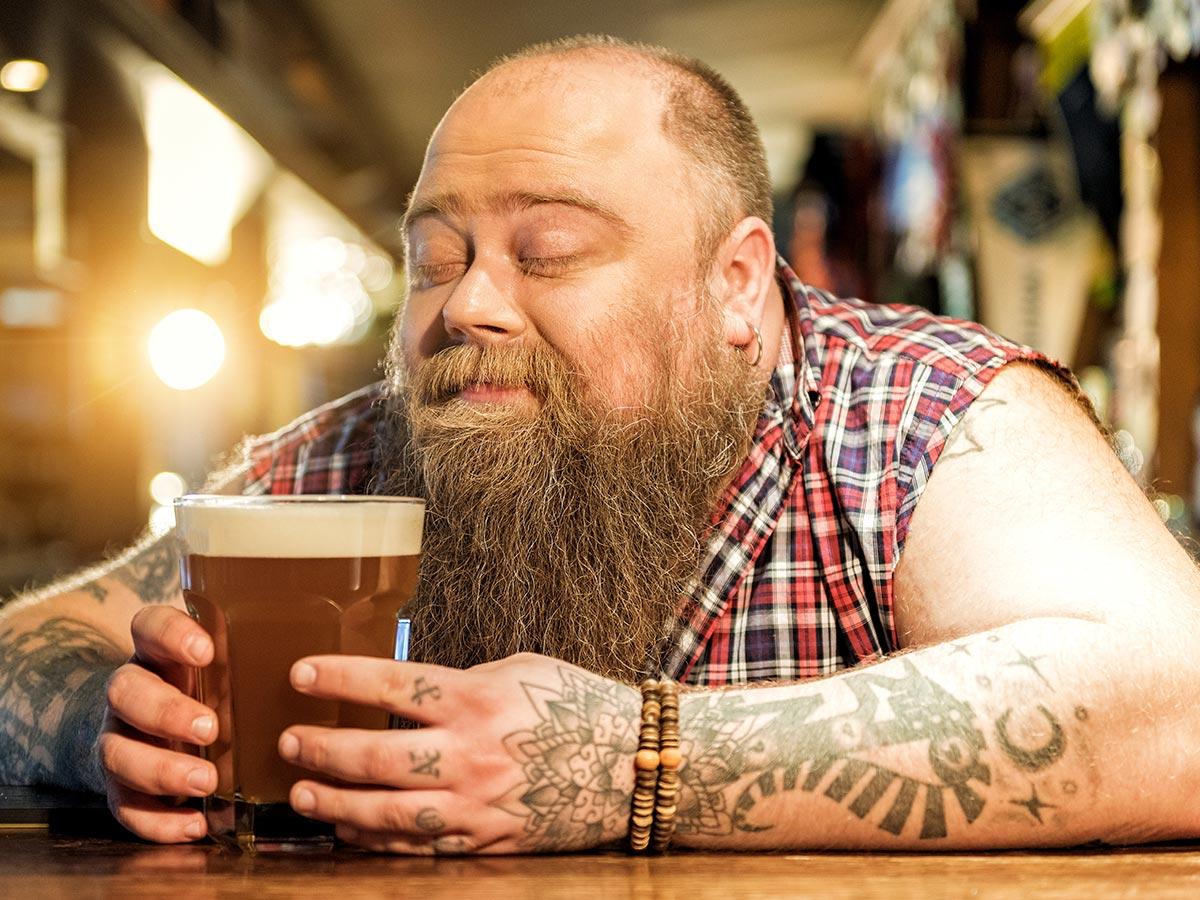 fogyni és inni sört)