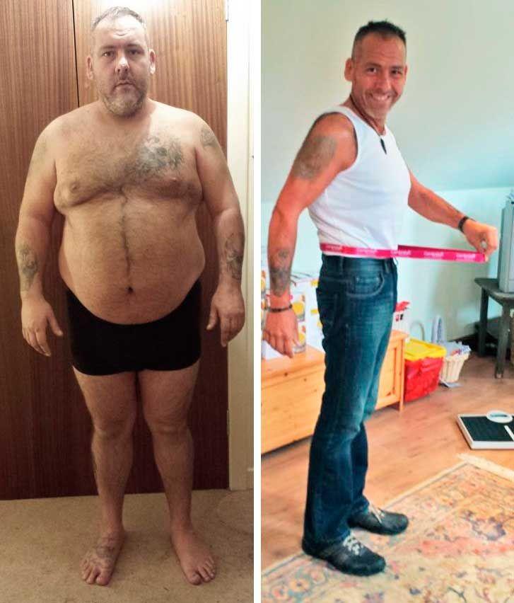 a férfiak egészséges fogyása