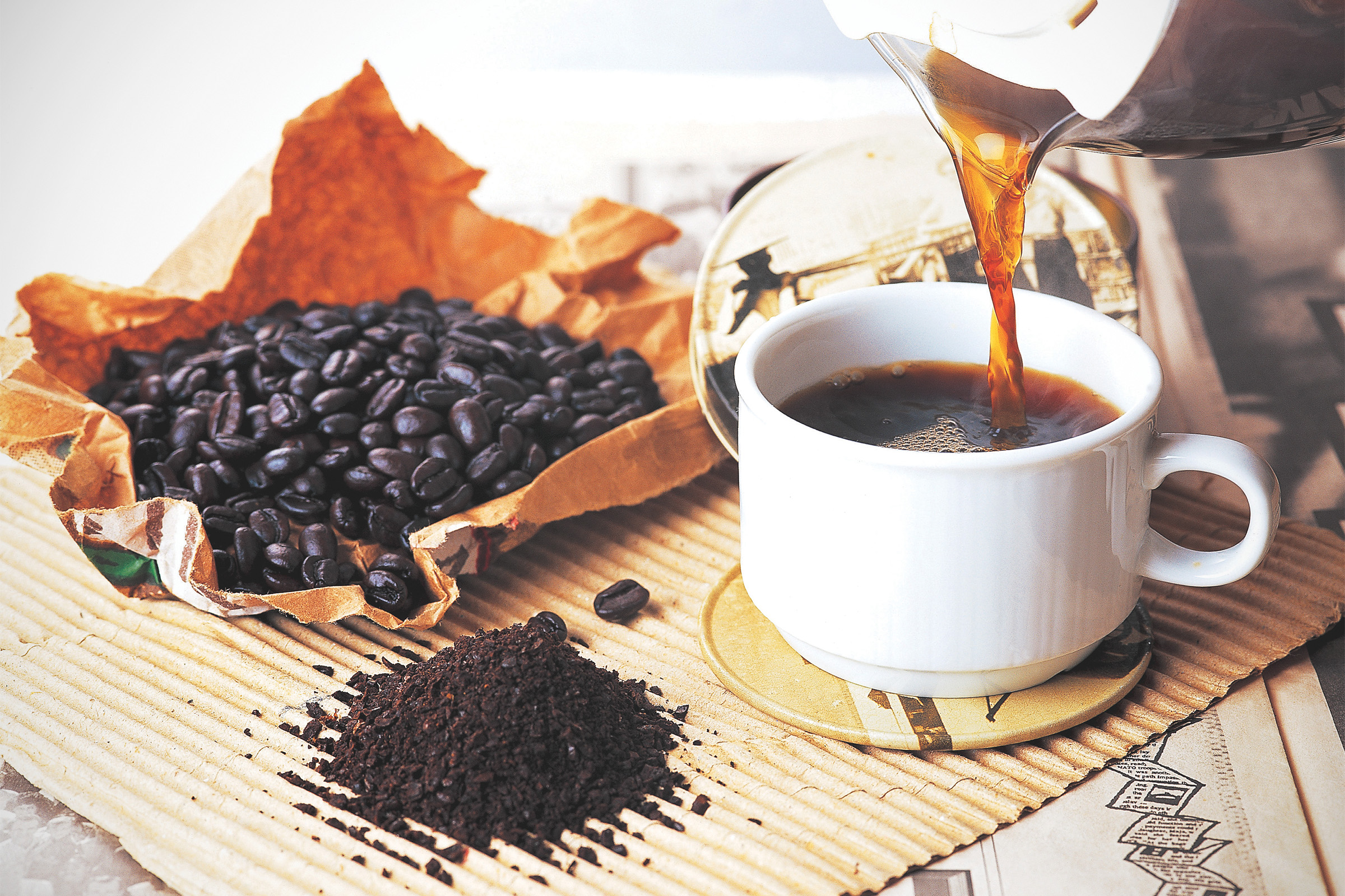 kávéval lehet fogyni)