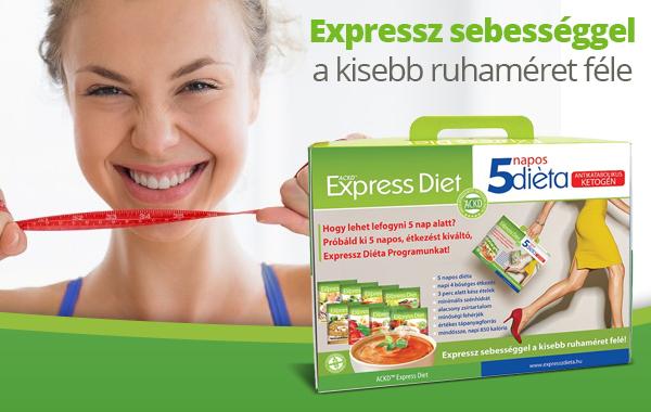 expressz diéta 5 napos