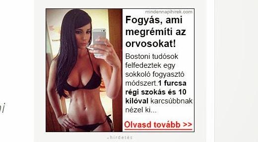 fogyás reklám)