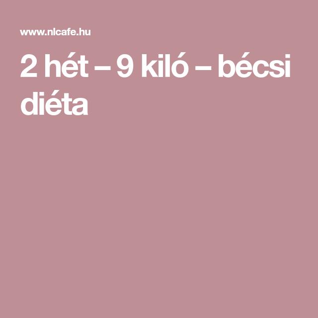 2 hetes bécsi diéta)