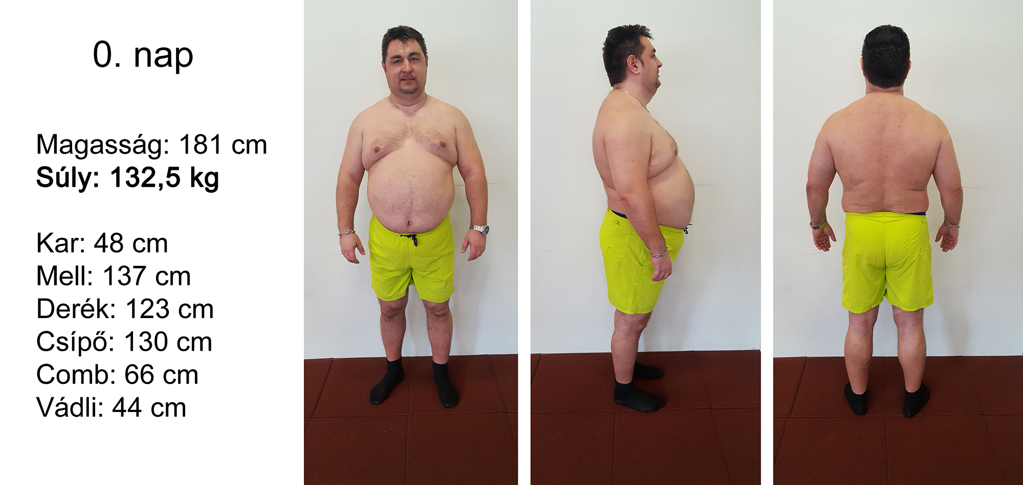 8 kg fogyás hetente