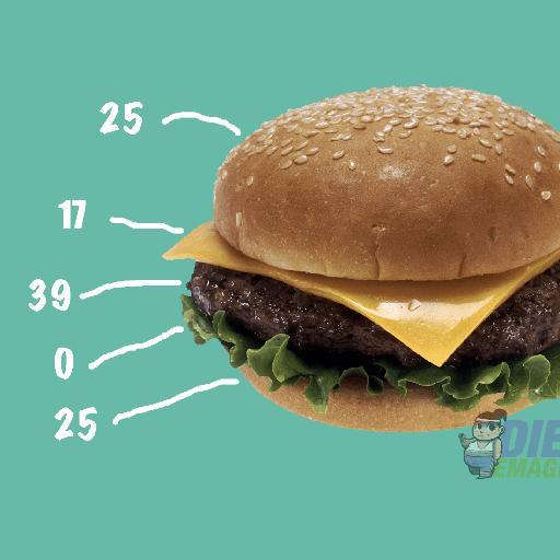 fogyás burger