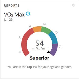 fogyás vo2 max