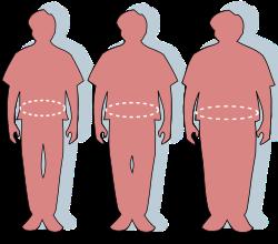 megnövekedett súly és súlycsökkenés