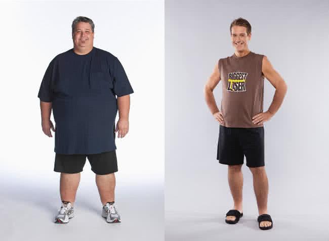 fogyni kövér ember