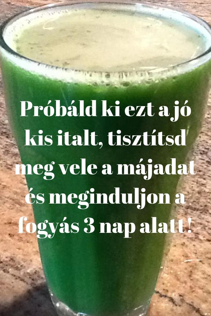 italok a fogyáshoz