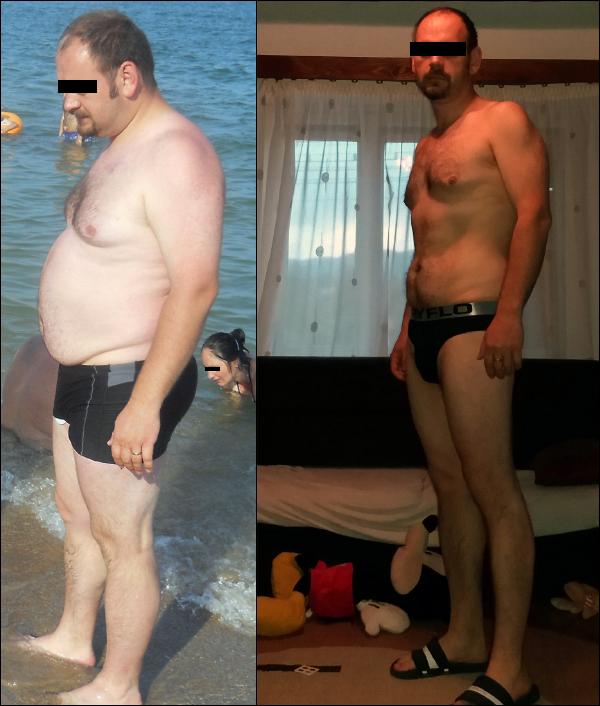 35 kg súlycsökkenés 3 hónap alatt)
