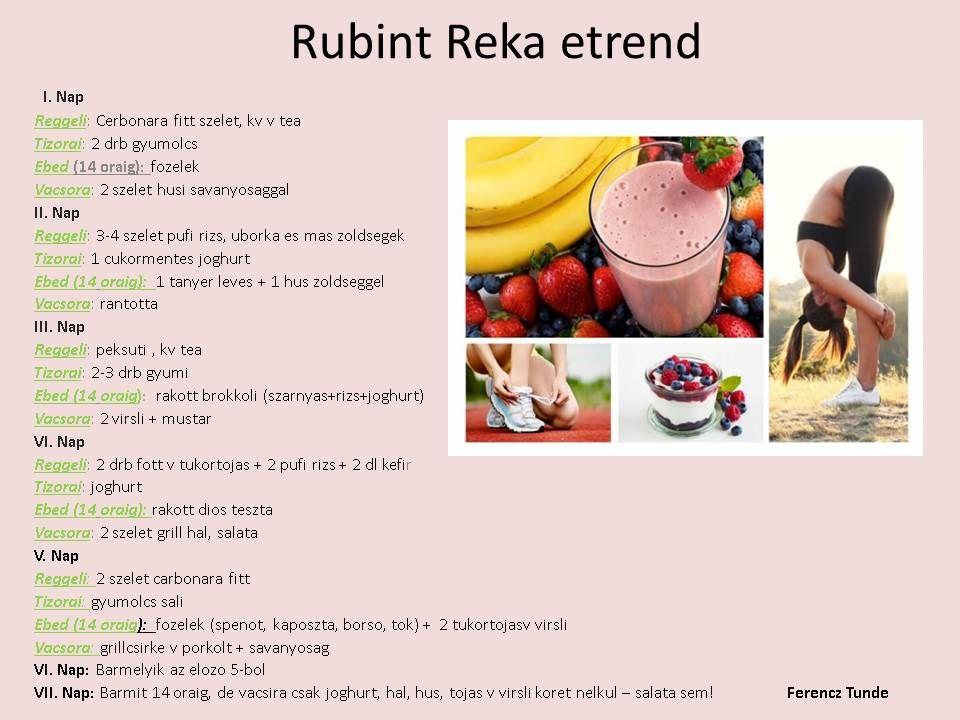 rubint réka 1 hetes diéta rhodiola fogyás eredmények