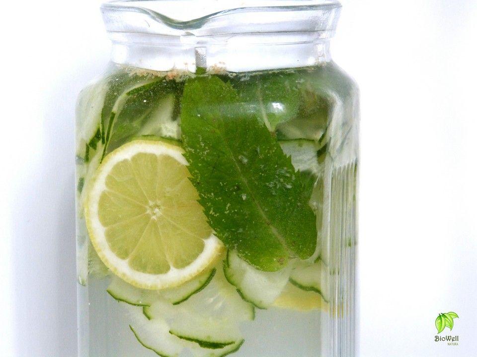 zsírégető ital citrom gyömbér uborka